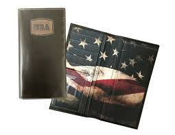 danbury western wallet mens usa leather checkbook 7011000 0