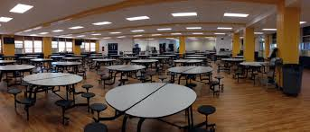 high school cafeteria. Among Other District Plans, The Cafeteria At Sterling High School Saw Renovations This Summer. Jason Austin \u002795, Principal Of School,