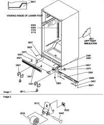 amana ts22tw refrigerator sr z parts partswarehouse com amana ts22tw