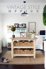 Cottage style office ideas various home desk furniture plants room