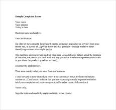 complaint letter examples complaint letter 16 download free documents in word pdf