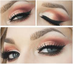 sunset copper eye makeup tutorial 7 spring makeup looks to inspire you check it