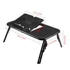 foldable office table. Computer Desk Portable Adjustable Foldable Laptop Notebook Lap PC Folding Table Vented Stand Bed Office Bedroom Table-in Desks From A