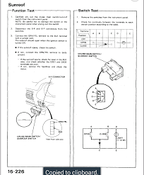 aftermarket sunroof honda tech 90 93 switch electrical i do not know what the aftermarket switch wires are designated as and how they would correspond