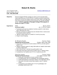 Psw Sample Of Resume And Robert Ws Health Care Support Resume Rtf Updated