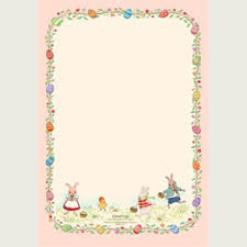 easter stationery cute free printable easter stationery sweet for invites to easter