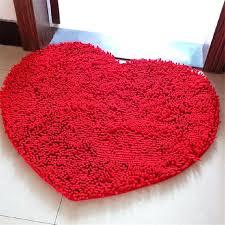 heart shaped rug c fleece valentine s day sweet red heart shaped carpet heart shaped rug