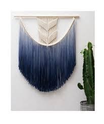 large macrame wall hanging modern macrame dip dye ombre wall art boho wall hanging wall tapestry macrame tapestry