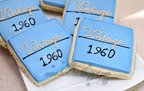 Classy Cookies For 50th Birthday Hanielas Recipes Cookie