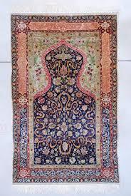 x 5 2 7597 silk and metal hereke rug