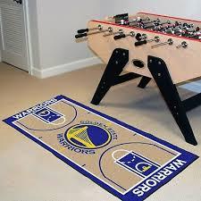 golden state warriors 29 5 x 54 large basketball court runner area rug mat