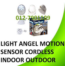 cordless indoor outdoor motion sensor led light. light angel motion activated sensor cordless indoor outdoor 7led led