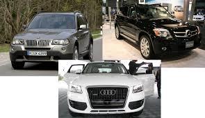 BMW 3 Series xc60 vs bmw x3 : Comparison: Audi Q5 Vs. BMW X3 Vs. Mercedes-Benz GLK