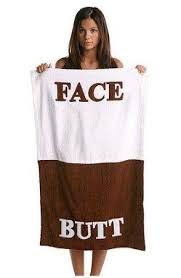 CafePress - BUTT FACE Beach Towel - Large Beach Towel, Soft 30