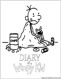 Small Picture Diaryofawimpykid Coloring Pages Free Printable Colouring Pages