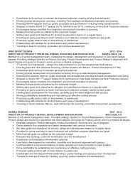 product - Product Developer Resume