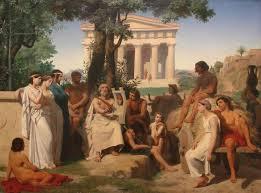 Как жили люди в Древней Греции ru Древняя