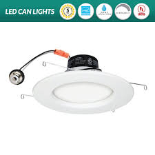 Retrofit Recessed Lights With Led 6 Inch Can Lights Pogot Bietthunghiduong Co