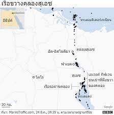 คลองสุเอซ : ทำอย่างไรจึงจะทำให้เรือเอเวอร์ กิฟเวน กลับมาแล่นได้อีก - BBC  News ไทย