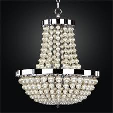 moo glow pearl bead chandelier 642nd16sp 7