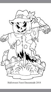 Extra Kleurplaat Nodig Print Hem Uit En Halloween Feest