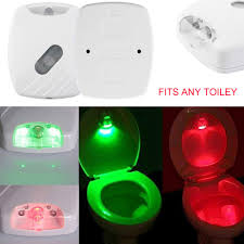 Bowl Light Cover Toilet Lid Induction Lamp Toilet Cover Sense Light The
