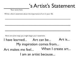 Picking research question and thesis statement for art history research paper. Category Artist Statement Artist Statement Artist Statement Template Artist Statement Worksheet