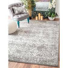 beautiful area rugs of modern medallion trellis silver rug 9 x nuloom 8x10 moroccan blythe