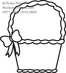 Small Picture Easter Basket Coloring Page Royalty Free Clip Art Picture