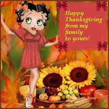 Beautiful Happy Thanksgiving Quotes Best of Betty Boopy Happy Thanksgiving Quote Pictures Photos And Images