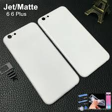 iphone 6 plus white. 2017 white matte housing for iphone 6 jet gold replacement customs imei with logo free tpu case from yushangcompany, plus