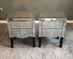mirrored furniture next. Pair Or Mirrored Gatsby Bedside Tables From Next Furniture