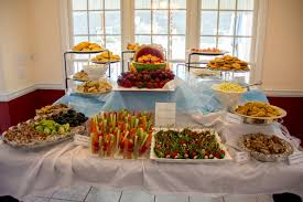 Wedding Food Tables Baby Shower Food Table Party Ideas Pinterest Baby Food Table