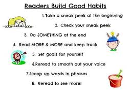 Building Good Reading Habits Poster