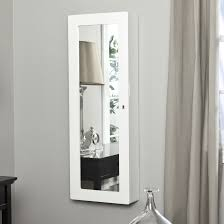 Over The Door Mirrors Furniture Mesmerizing Jewelry Armoire Mirror For Home Furniture