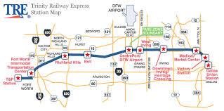 downtown dallas map