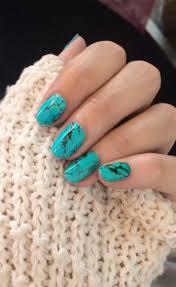Turquoise Stone Manicure | La Beℓℓe ℳystère | Cowgirl Princess ...