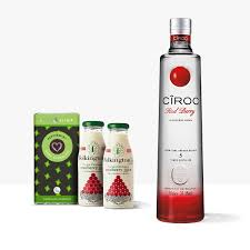 cîroc red berry vodka gift set