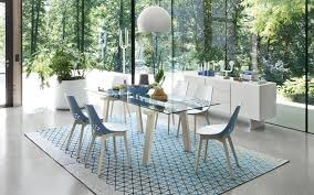 Italian Extendable Dining Table Levante Extendable Dining Table Calligaris