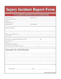 Sample Fire Incident Reports Word Alarm Report Example Template Uk
