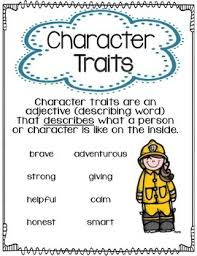 Character Traits Anchor Chart Character Traits Anchor Chart Or Poster