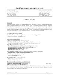 Impressive Medical Technology Resume For Your Medical Technologist
