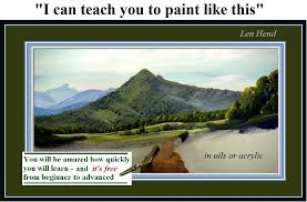 free painting lessons for beginners landscapes in oils and acrylics short tutorial s