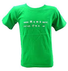 Kinder Hemd Grün Lustige Sprüche T Shirts 5 6 Jahre Wenn Mama Nervt