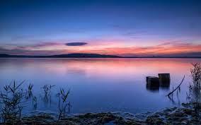 nature, Lake, Sunset, Landscape ...