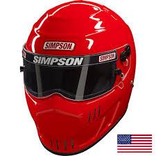 Simpson Speedway Rx Racing Helmet