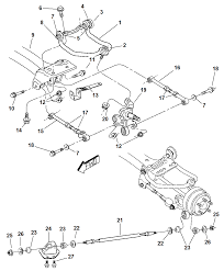 2004 dodge stratus sedan rear suspension