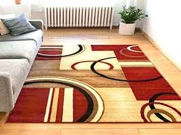 geometric area rugs 8x10 unique geometric area rugs or rings red geometric modern casual area