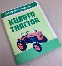 kubota tractor manual kubota tractor model l 260p service repair shop manual l260p l260 260