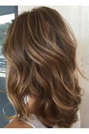 Dark hair with blonde highlight